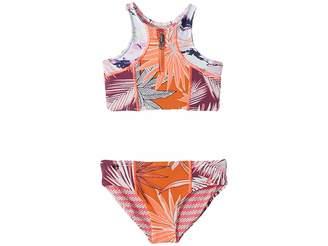 Maaji Kids Tangerine Turtoise Bikini (Toddler/Little Kids/Big Kids)