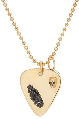 Ann Dexter-Jones Women's Guitar-Pick-Pendant Necklace