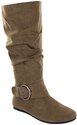 MIA AMORE Mia Amore Womens Shoes Slouch Flat Heel Pull-on Dress Boots