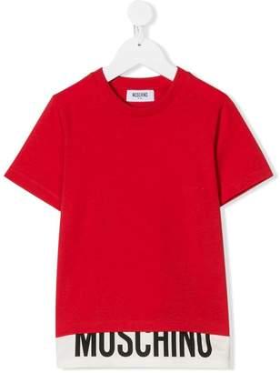 Moschino Kids basic T-shirt