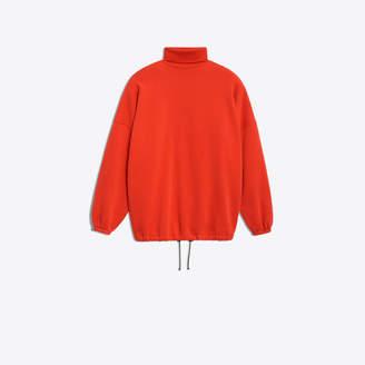 Balenciaga Brushed felt turtle neck sweater
