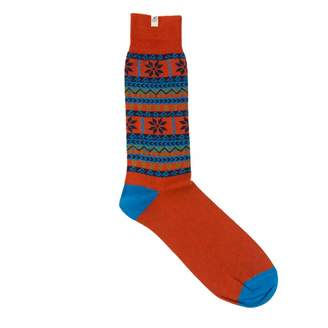 40 Colori - Rust Norwegian Organic Cotton Socks