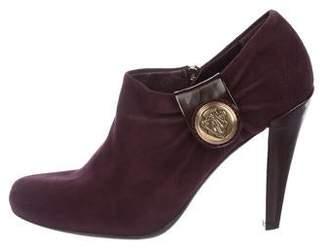 6f22a986e05 Purple Patent Boots - ShopStyle