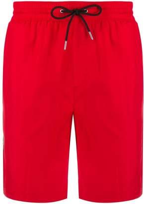 Icon Stripe swim shorts