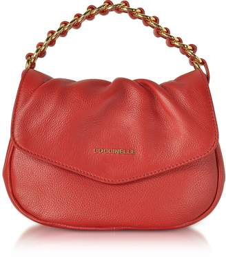 Coccinelle Julie Leather Top Handle Bag