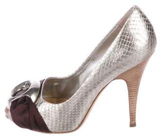b6276c9aa9 ... low cost pre owned at therealreal giuseppe zanotti pix 100 metallic  pumps e40f4 06ffd