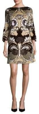 Lafayette 148 New York Marissa Printed Shift Dress