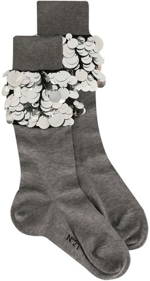 No.21 sequin socks