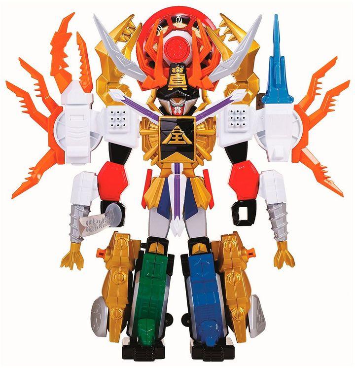 Power Rangers samurai gigazord by bandai