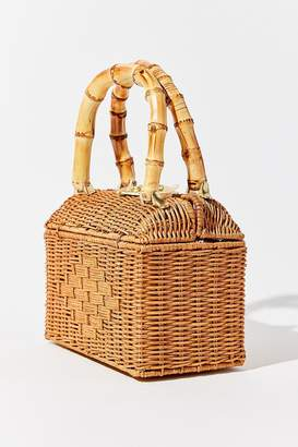 Urban Outfitters Mini Straw Tote Bag
