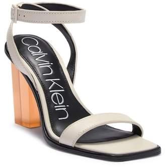 Calvin Klein Kim Cervo Block Heel Sandal