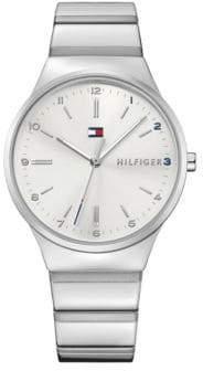 Tommy Hilfiger Stainless Steel Analog Link Bracelet Watch