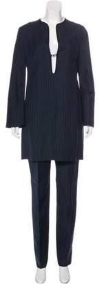 Gucci Pinstripe Tunic Pant Set