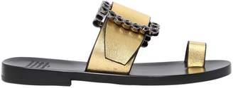 Maison Margiela 20mm Metallic Leather Sandals