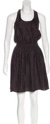 LoveShackFancy Silk-Blend Sleeveless Dress