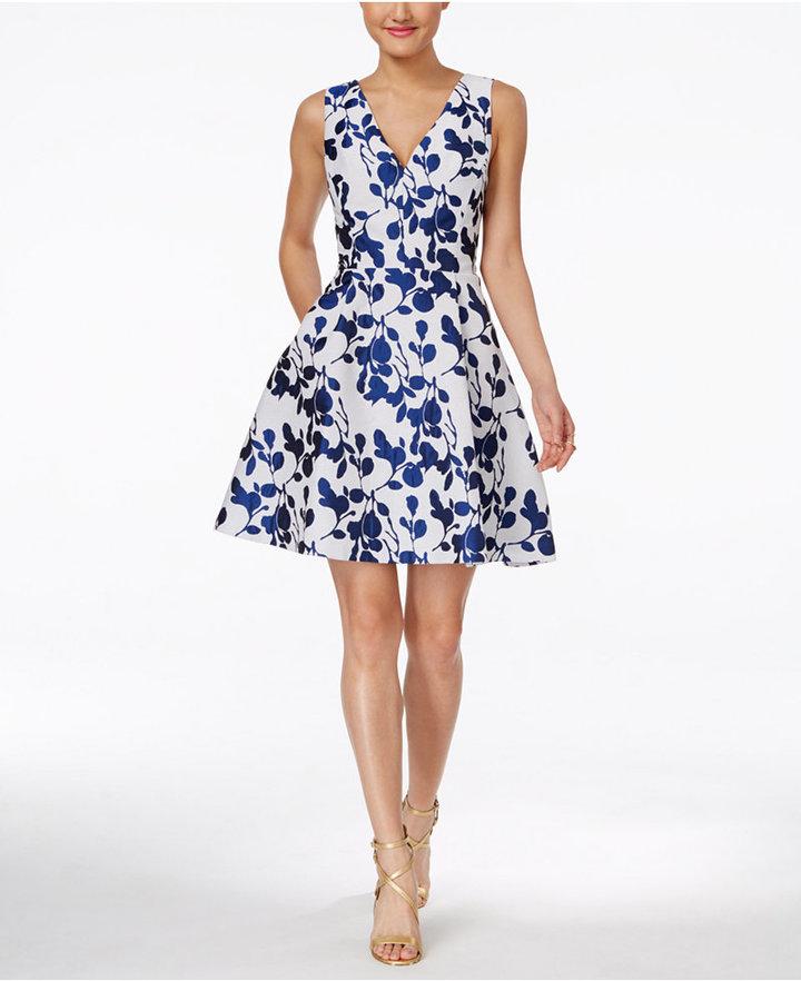 Betsey JohnsonBetsey Johnson Floral-Print Fit & Flare Dress