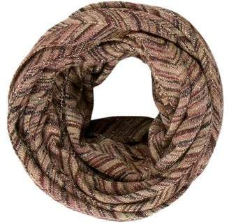 Missoni Patterned Knit Infinity Scarf