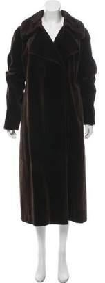 Valentino Sheared Mink Coat