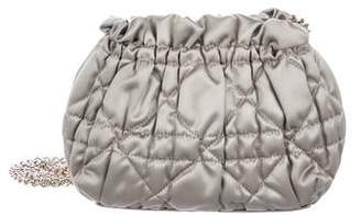 Christian Dior Quilted Satin Bag