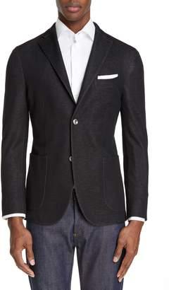 Boglioli Slim Fit Solid Cotton Sport Coat