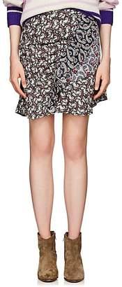 Etoile Isabel Marant Women's Loz Cotton Voile Miniskirt - Pink