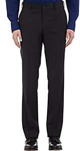 Ralph Lauren Purple Label Men's Flat-Front Anthony Trousers - Charcoal