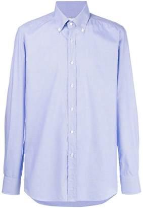 Xacus gingham button down shirt