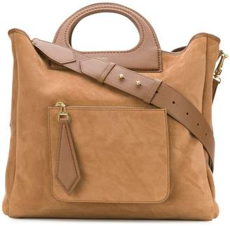 At Farfetch Max Mara Structured Tote Bag