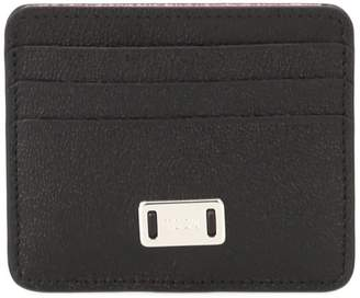 Tod's Engraved Logo Small Credit Card Holder