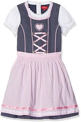 S'Oliver Girl's Kleid Kurz Dress