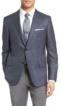 Men's Hickey Freeman Beacon Classic Fit Check Wool Sport Coat $1,195 thestylecure.com