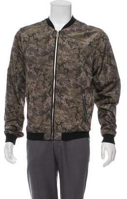 Dolce & Gabbana Printed Bomber Jacket