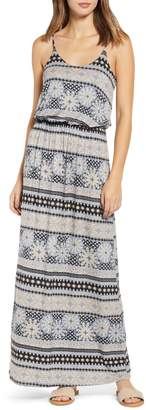 All in Favor Knit Maxi Dress