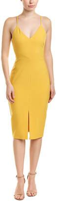 LIKELY Front Slit Sheath Dress