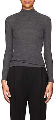 The Row Women's Steve Rib-Knit Wool Mock Turtleneck Sweater
