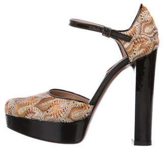 Missoni Platform High Heel Pumps