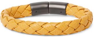 Prada Woven Saffiano Leather Bracelet