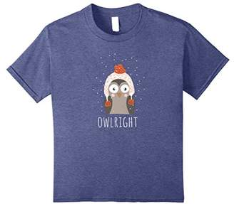 Funny Owlright Owl Lovers T-Shirt