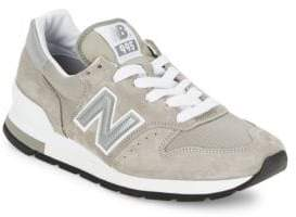 New Balance Tonal Suede Sneakers