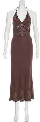 Just Cavalli Silk Maxi Dress