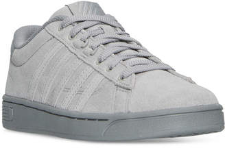 K-Swiss Women's Hoke Suede Cmf Casual Sneakers from Finish Line $59.99 thestylecure.com