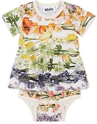 Molo Kids Infants' Frannie Stretch-Cotton Bodysuit