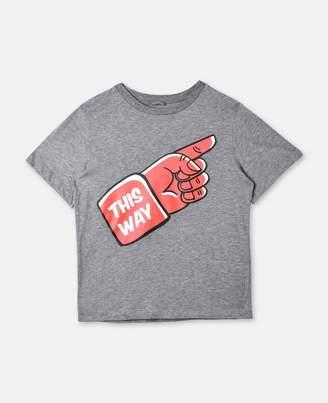 Stella McCartney arrow mutant t-shirt