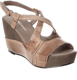 Antelope 884 Leather Wedge Sandal