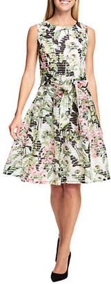 Tommy Hilfiger Lola Floral Sheer Ribbon Dress