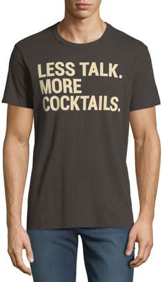 Chaser Men's Less Talk Slogan T-Shirt