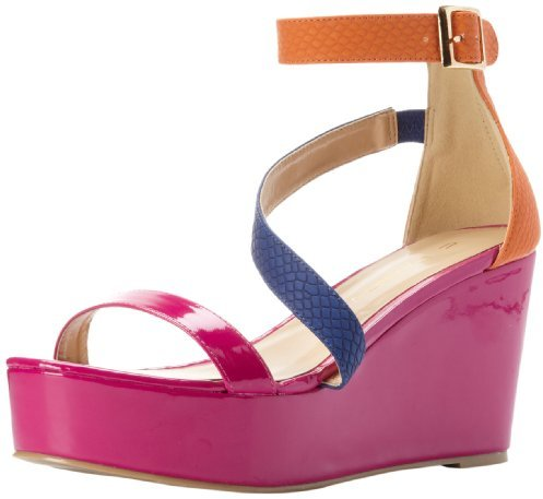 C Label Women's Bottega-3 Ankle-Strap Sandal