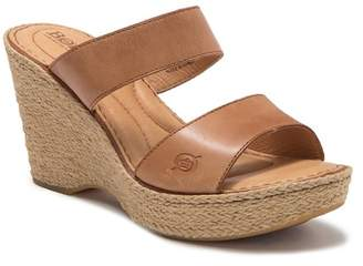 Børn Aakash Platform Wedge Sandal