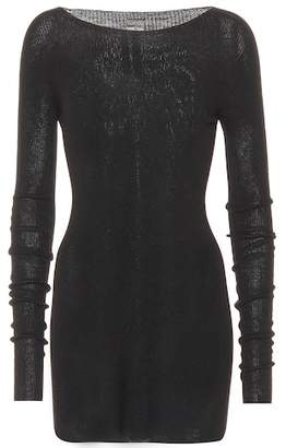 Rick Owens Knitted wool minidress