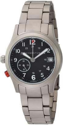 Momentum Women's Swiss Quartz Titanium Dress Watch, Color:Grey (Model: 1M-SP61B0)